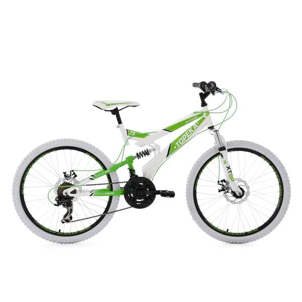 KS Cycling Jugendfahrrad Mountainbike Fully Topeka 21 Gänge, 24 Zoll