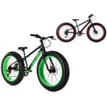 KS Cycling Mountainbike 24 Zoll Fatbike SNW2458