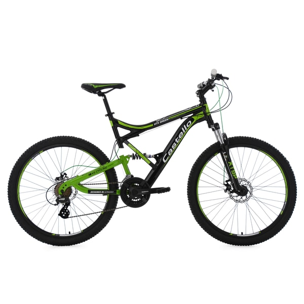 KS Cycling Fully Mountainbike Castello HTX 21 Gänge, 26 Zoll