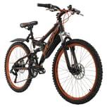 "KS Cycling Jugendfahrrad Mountainbike Fully 24"" Bliss"