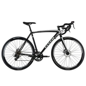 KS Cycling Gravelbike Rennrad 28'' Xceed schwarz-grau