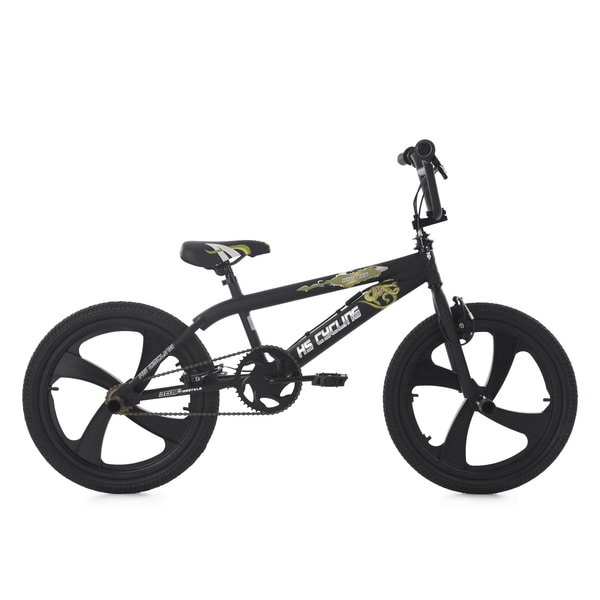 KS Cycling BMX Freestyle Daemon schwarz 20 Zoll