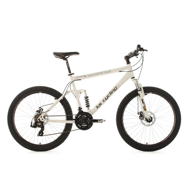 KS Cycling Mountainbike Fully Insomnia 21 Gänge, 26 Zoll