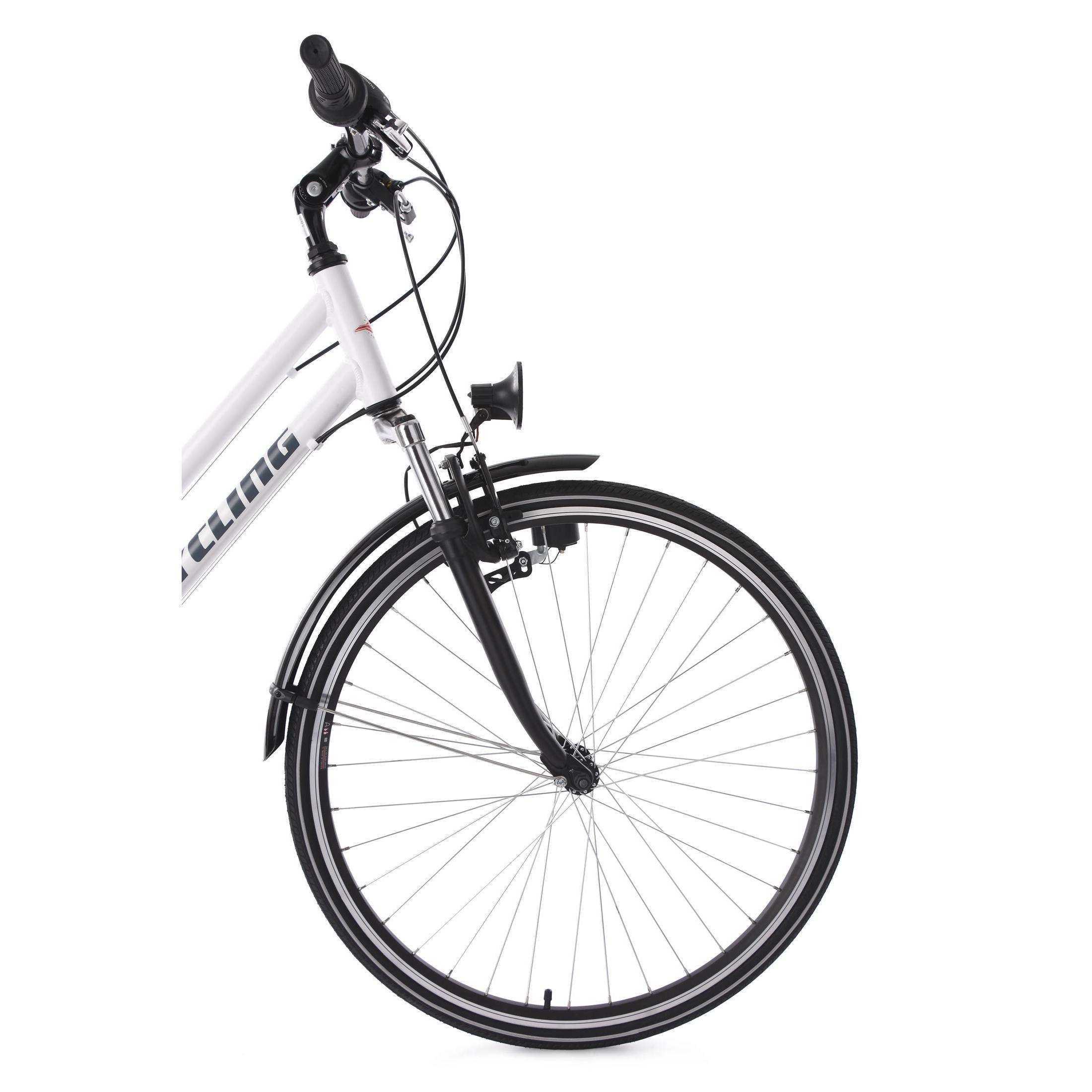 KS Cycling Trekkingrad Damenfahrrad Metropolis 21 Gänge, 28 Zoll