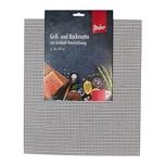 Steuber 10er Set Grillmatte 42 x 36 cm Antihaft Backpapier-Ersatz schwarz