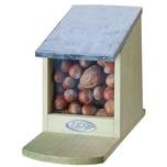 Esschert Design 3 Stück Futterhäuser Für Eichhörnchen Mit Metalldächer Deckel Klappb. Ohne Nüsse
