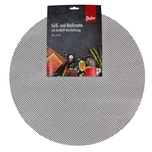 Steuber 2er Set Grillmatte Ø 52 cm Antihaft Backpapier-Ersatz schwarz