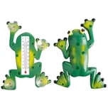Esschert Design 5 Stück Fensterthermometer Temperaturmesser Motiv Frosch Von Innen Ablesbar