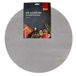 Steuber 3er Set Grillmatte Ø 52 cm Antihaft Backpapier-Ersatz schwarz