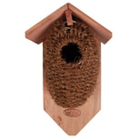 Esschert Design 5 Stück Nistkästen Vogelhäuser Mit Höhle Aus Kokosfaser