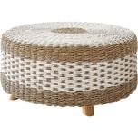 Beistelltisch Kelli Seegras Natur 80x80 cm Tisch