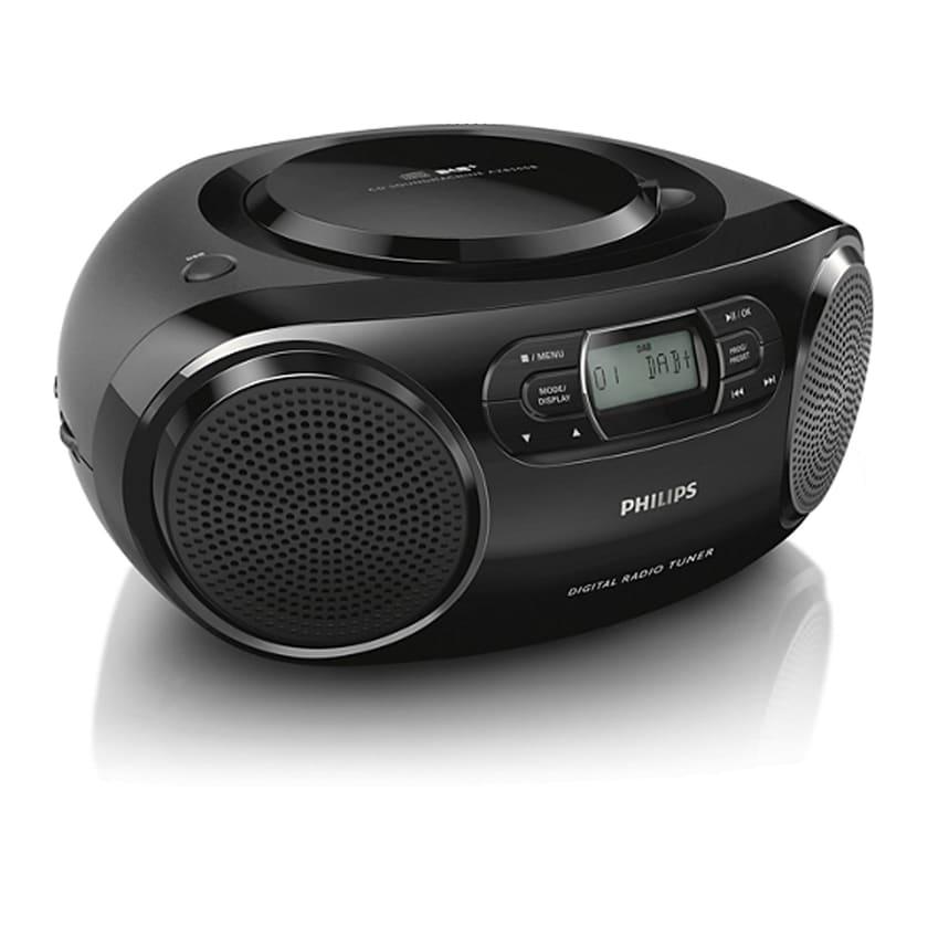 Philips CD-Player AZB500 schwarz