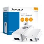 Devolo 1000 Starter Set+ Kombi 1000+ und 1000 mini weiß