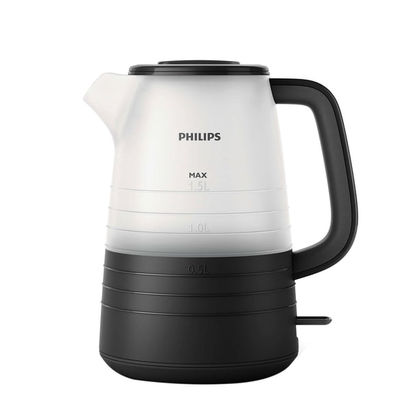 Philips Wasserkocher HD 9334/90 schwarz/weiß