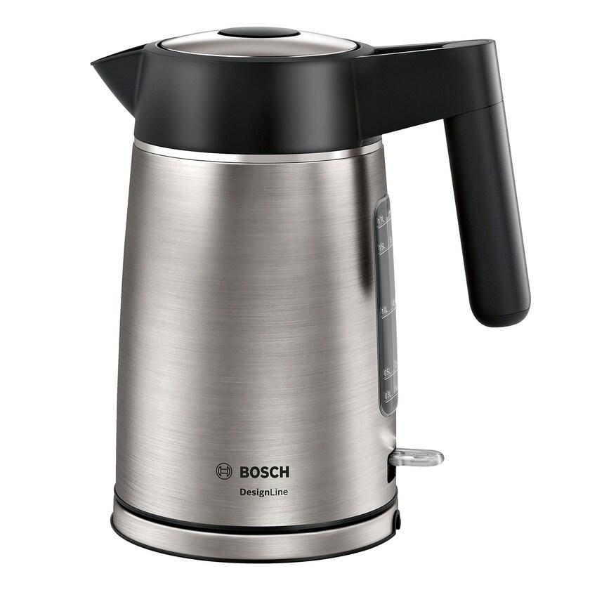 Bosch DesignLine Wasserkocher 1,7l TWK5P480 Edelstahl