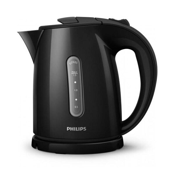 Philips Wasserkocher HD 4647/20, 1,5l schwarz