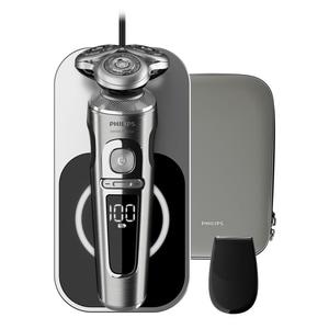 Philips Series 9000 Prestige Akku-Rasierer mit Qi-Ladepad SP 9861/13