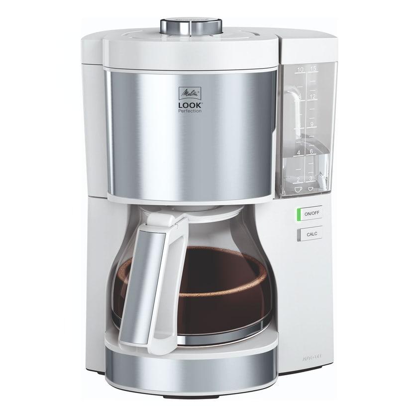 Melitta Look V Perfection Kaffeeautomat 1025-05 weiß