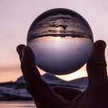 Rollei Lensball 60mm Vollglaskugel Glasball Fotos Fotografie Inkl. Tasche