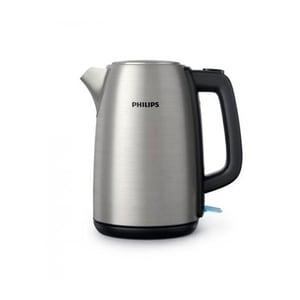 Philips Wasserkocher Viva HD9351/90 silber/schwarz