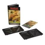 Tefal Platten XA80 schwarz 2er-Set