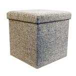 Echtwerk Sitzwürfel mit Aufbewahrungsbox StoreCube grau