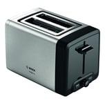 BoschDesignLine Kompakt Toaster TAT4P420DE Edelstahl/schwarz