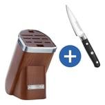 KitchenAid Messerblock KKFMA01DA dunkelbraun