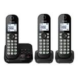 Panasonic KX-TGC 463 GB Schnurloses-Telefon schwarz