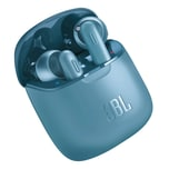 JBL Bluetooth In-Ear Kopfhörer T220 TWS blau