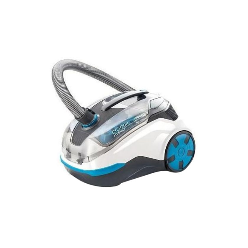 Thomas Cycloon Hybryd LED Parquet Staubsauger weiß/blau