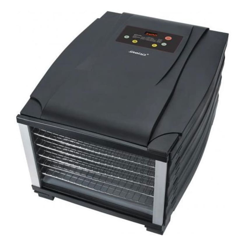 Steba ED 6 Elektronischer Dörrautomat grau/schwarz