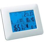 Mebus 40339 Funk-Wetterstation mit barometrischer Wetterprognose weiß
