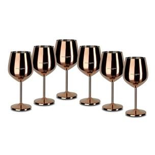 Echtwerk Weinkelche aus Edelstahl 6tlg Edition