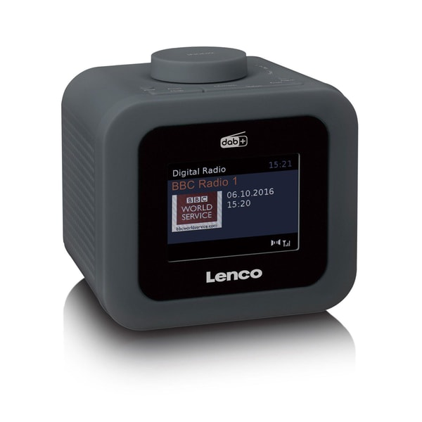 Lenco CR-620 Dark-Grey Radiowecker