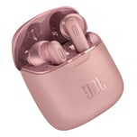 JBL Bluetooth In-Ear Kopfhörer T220 TWS rosa