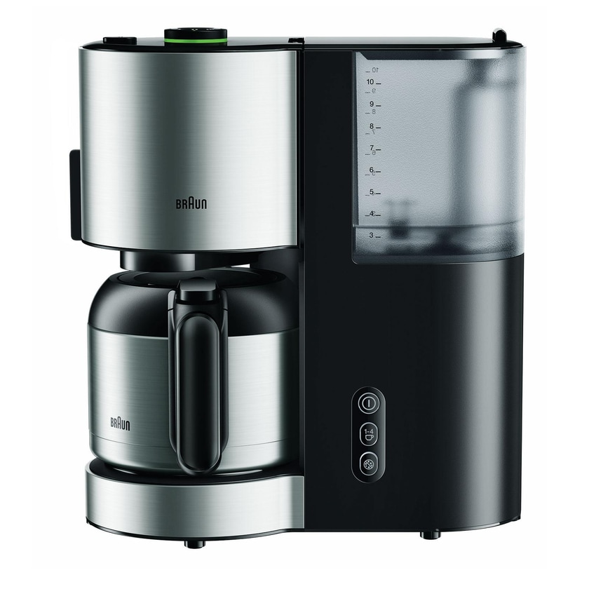 Braun Thermo-Kaffeeautomat ID Collection KF 5105 BK schwarz/Edelstahl