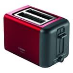 Bosch DesignLine Kompakt Toaster TAT3P424DE rot