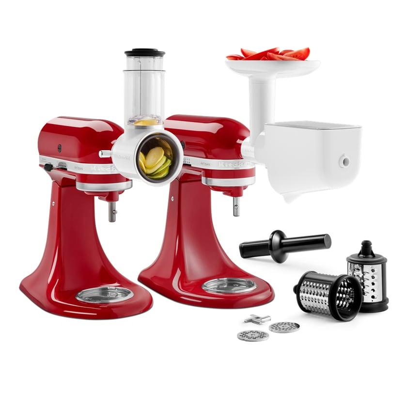 KitchenAid Zubehör Set für Küchenmaschinen 5KSM2FPPC 3-teilig