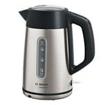 Bosch DesignLine Wasserkocher 1,7l TWK4P439 Edelstahl