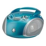 Grundig CD Radiorecorder GRB 2000USB blau/silber