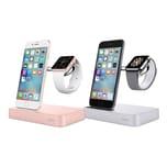 Belkin Valet Ladestation für iPhone und Apple Watch silber