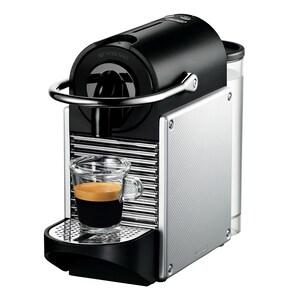 DeLonghi Nespressoautomat Pixie EN 124.S silber/schwarz