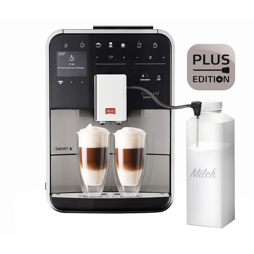 Melitta F86/0-400 Caffeo Barista TS Smart Plus Kaffeevollautomat schwarz/Edelstahl