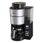 MELITTA 1021-01 Aroma Fresh Kafeeautomat mit Timer und Mahlwerk schwarz/Edelstahl -