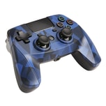 Flashpoint PS4 Wireless Game Pad Camouflage blau