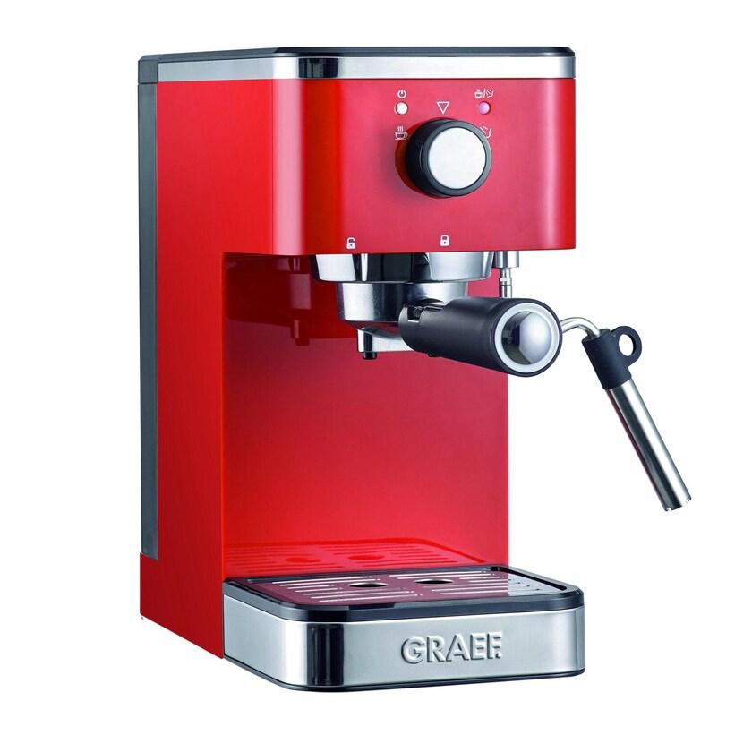 Graef ES 403 Salita Siebträger Espressomaschine rot