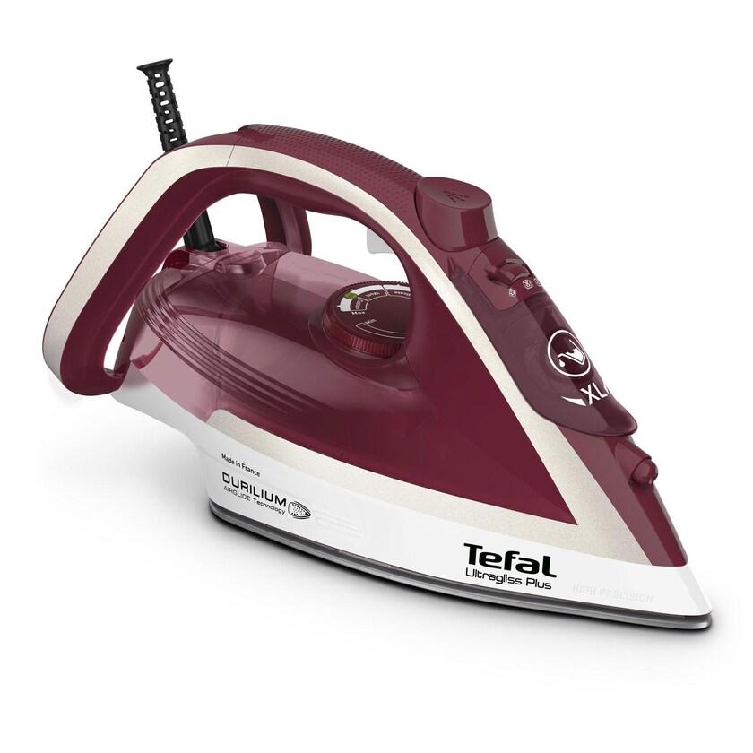 TEFAL FV 6810 Ultragliss Plus Dampfbügeleisen rot