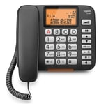 Gigaset Analogtelefon DL580 schwarz