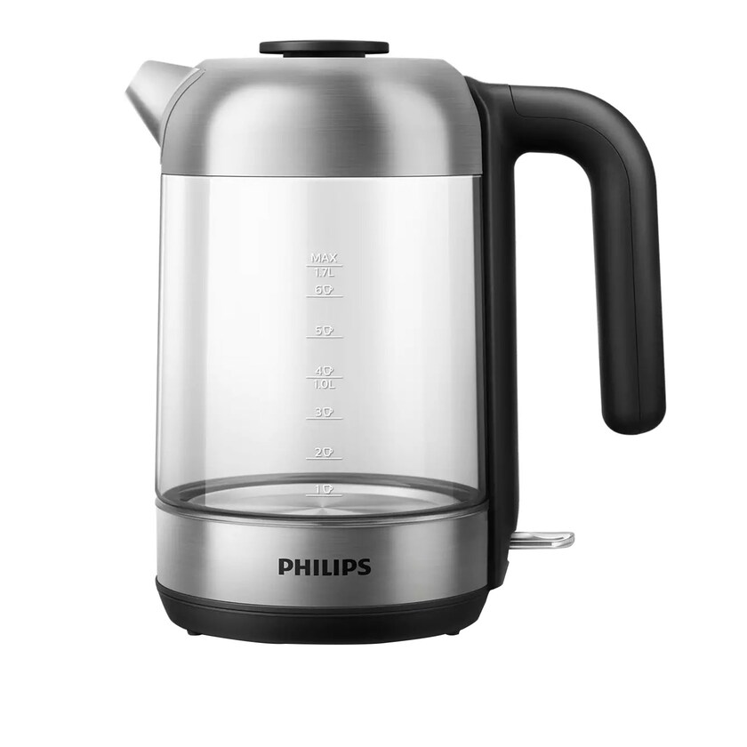 Philips HD 9339/80 Wasserkocher 1,7l Glas/Edelstahl